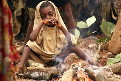 非洲侏儒部落土著寿命短 平均身高1米3