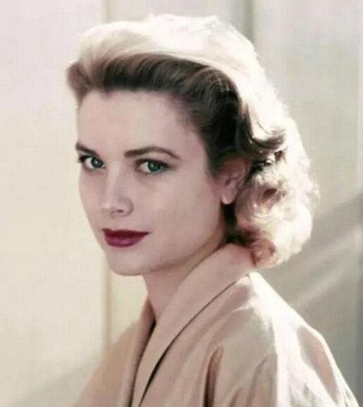 """摩纳哥王妃格蕾丝凯_永远的时尚女王赫本,她最爱的""""螺旋卷""""又出新流行,你还不 ..."""