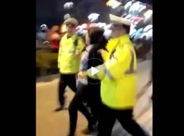 安徽一局长妻子打警务人员 警方称已和解不处罚