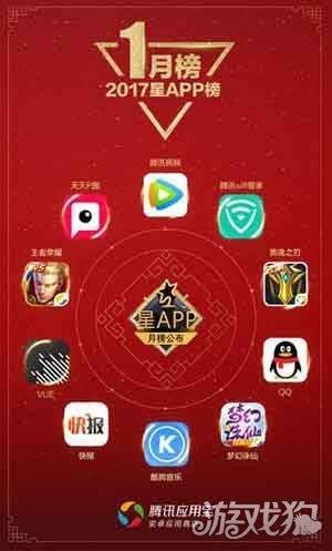 应用宝发布星APP1月榜 春节元素席卷移动互联网