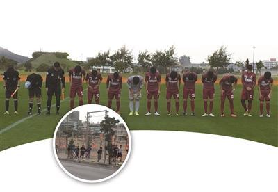 """日本校园足球这样""""玩"""":中小学生冬天户外穿短裤锻炼"""
