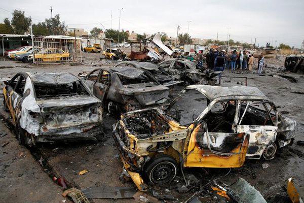 伊斯兰国在伊拉克制造汽车炸弹爆炸 致数人死亡