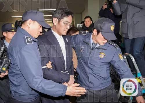 """三星""""太子""""被捕,这事在韩国有多大?"""