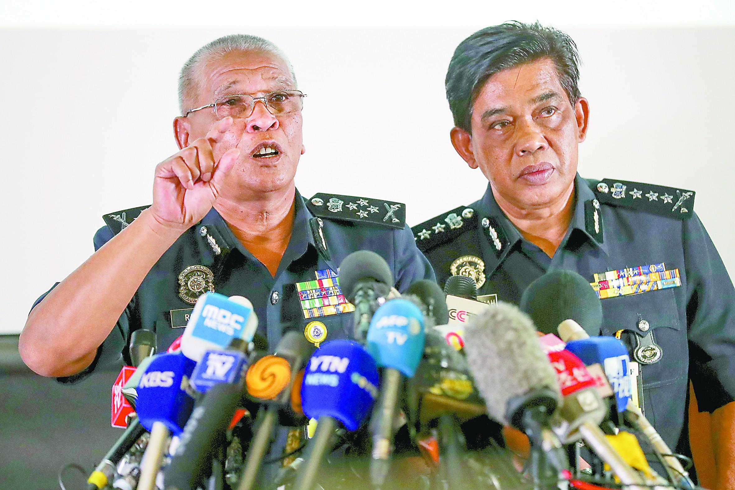 马方公布金正男案最新进展 称正在追捕七名嫌犯