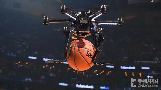 无人机强势登陆NBA 不过戈登还是玩脱了