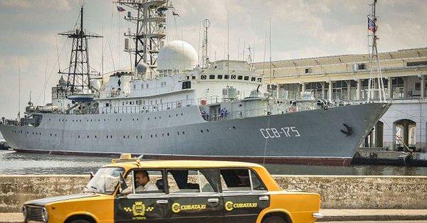 侦察美军核潜艇?美方回应俄间谍船抵近美东海岸