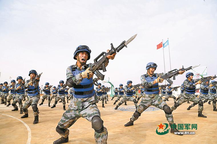 赴马里中国维和部队:9个月直面恐袭超240起