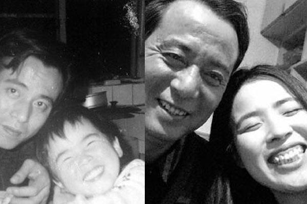 美女晒跨越24年父女照片:同款衣服