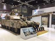 VT4坦克阿布扎比防务展亮相