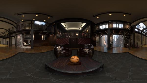 NBA 推出VR应用 让你亲访球星豪华休息室