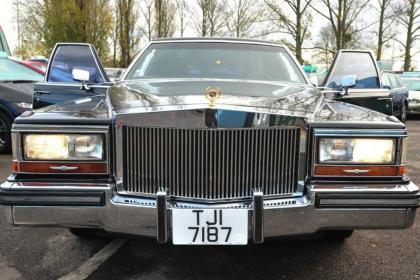 特朗普老牌座驾凯迪拉克在英出售 约5万英镑