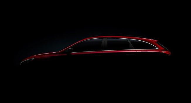 现代i30旅行版预告图发布 将亮相日内瓦车展