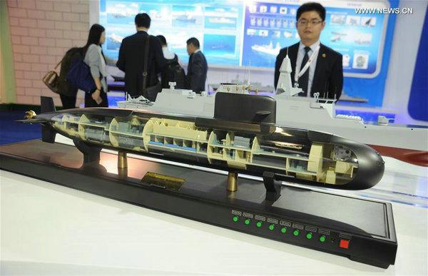 阿布扎比防务展中国军工大亮相 型号揭底(图)