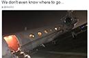 凄凉!考神凌晨滞留机场 经纪人:我们不知要去哪