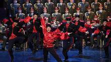 俄亚历山德罗夫红旗歌舞团重返舞台