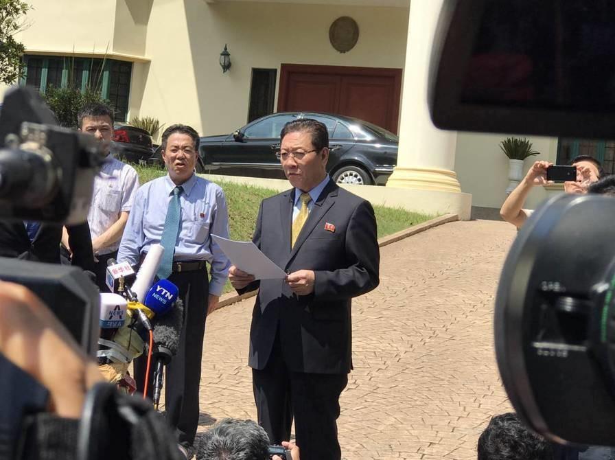 焦点丨刚刚!朝鲜大使再度发声指责马来西亚行为不公正 马召回驻朝鲜大使协助调查