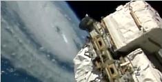国际空间站收获了太空白菜