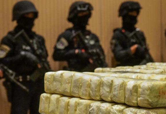 泰国警方缴获大批毒品 价值3700万美元