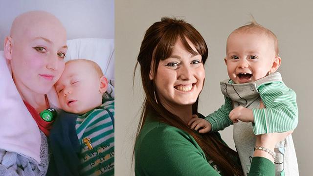 儿子拒绝母乳发现母亲癌症:他是我的小英雄