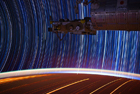 NASA宇航员公布太空照