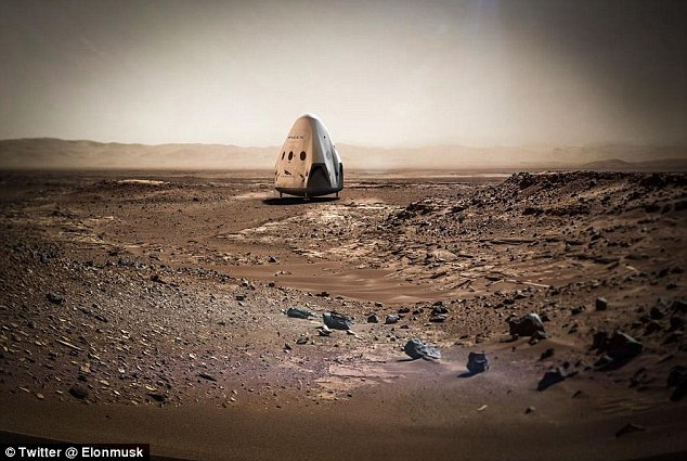 SpaceX火星计划预计推迟到2020年