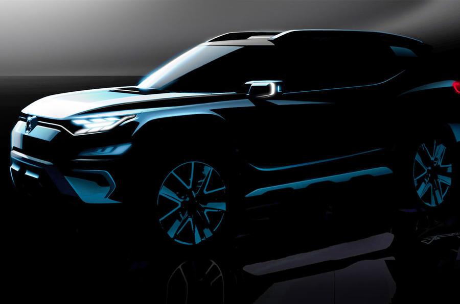 双龙七座概念SUV预告图发布 日内瓦首秀