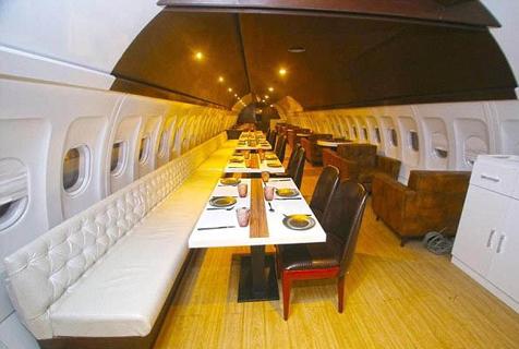 印度一客机变身餐厅 提供独特味蕾体验