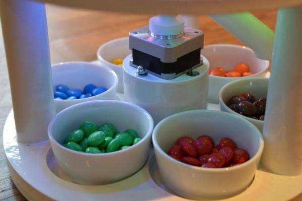 这个机器可分类彩虹糖