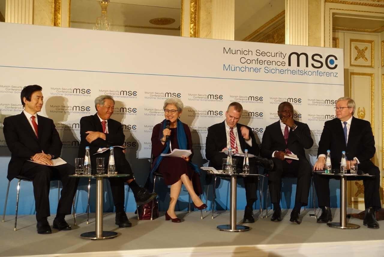 凌胜利:慕尼黑安全会议折射包容性安全合作至关重要