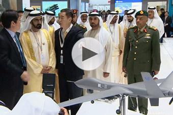 中东土豪看上中国翼龙2无人机