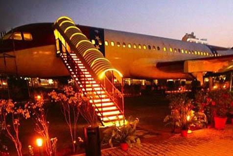 印度一客机变身餐厅 提供独特体验