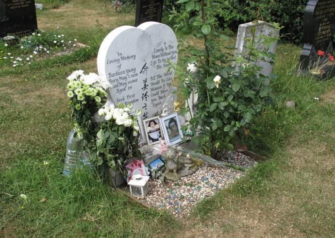 """""""俏黄蓉""""翁美玲将与母亲合葬于英国剑桥公墓"""