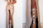 吸睛进阶术:下半身性感 迷倒女神和名媛的Leg Chains