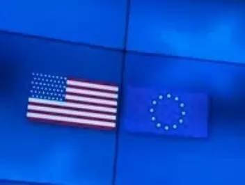 美国副总统访问欧盟时,发现星条旗多了一颗星……