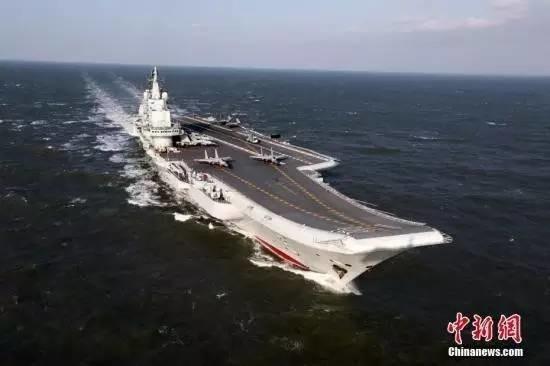 """假如""""卡尔·文森""""号在南海遇上辽宁舰,结果会……"""