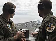 美军卡尔文森号航母抵达南海