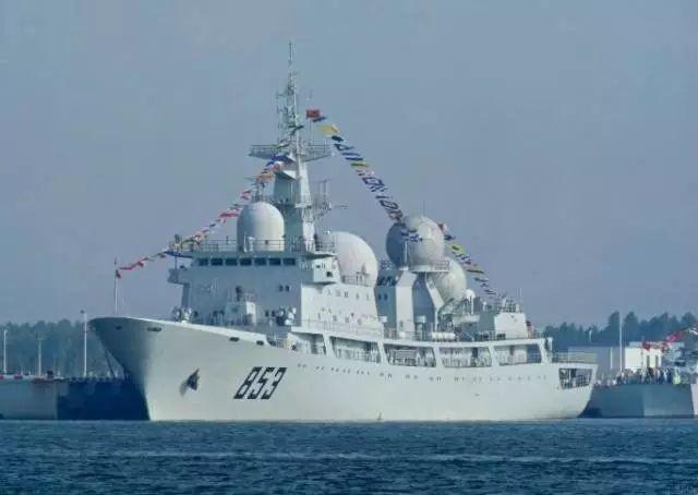 中国新型电子侦察船服役 美媒赞其水准世界一流