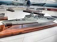 阿布扎比防展现中国三体护卫舰