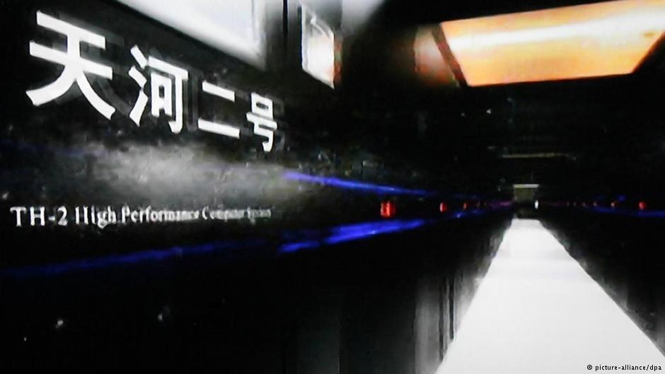 德媒:中国正在准备新超算 美将被挤出超算前三甲