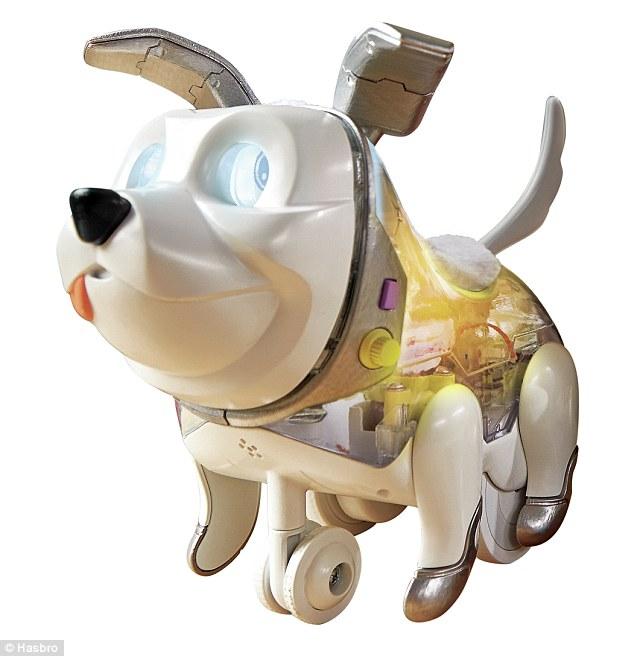 美玩具公司研发小狗机器人 助孩子学习基础编码
