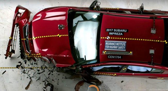 斯巴鲁翼豹获IIHS碰撞测试最高安全评级