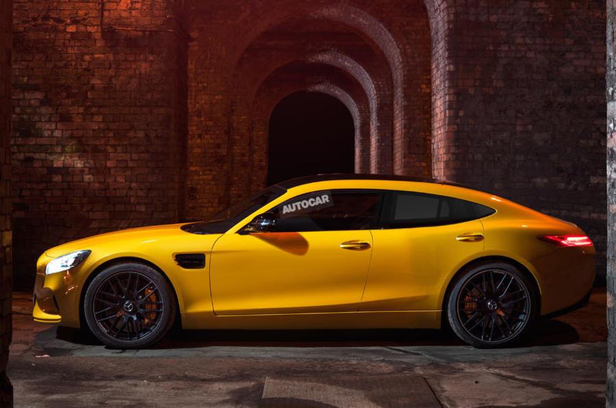 奔驰AMG GT4概念车将亮相日内瓦 确定量产