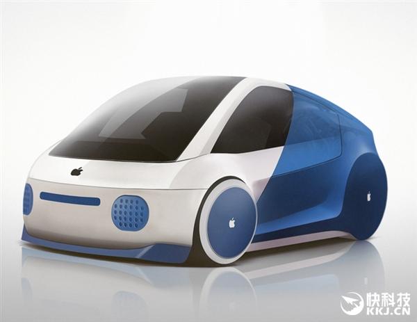 苹果icar概念车设计:咋不上天?