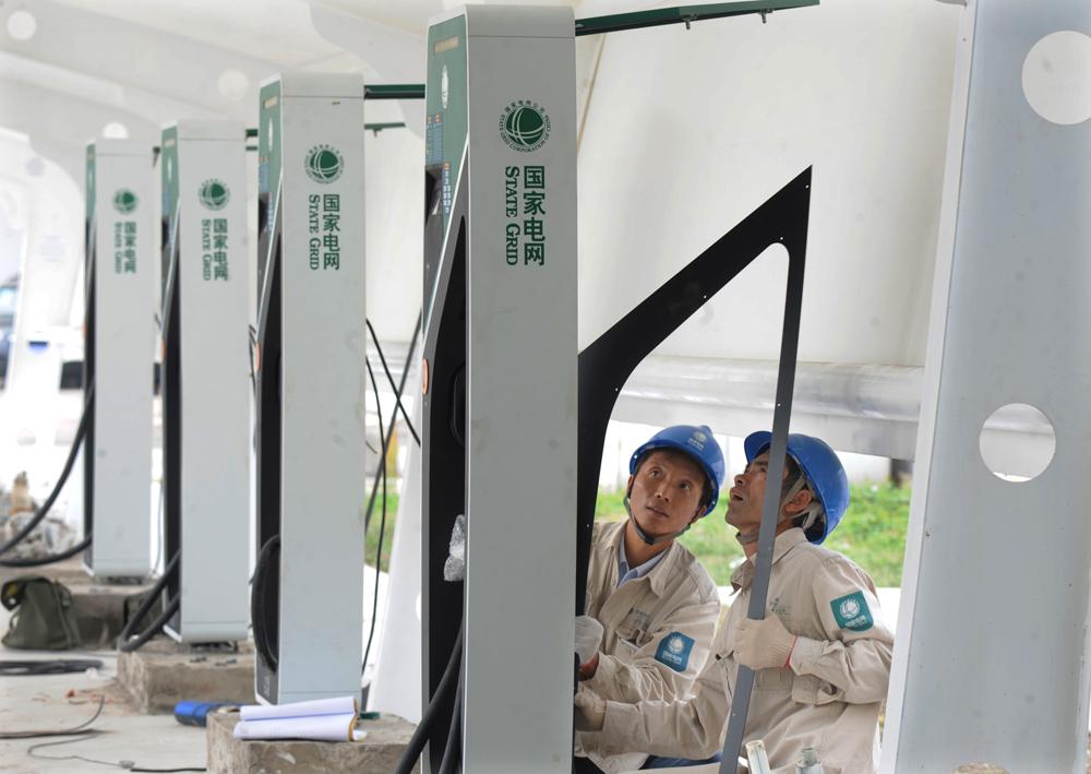 天津市织密电动汽车充换电网 建成充电桩2769台