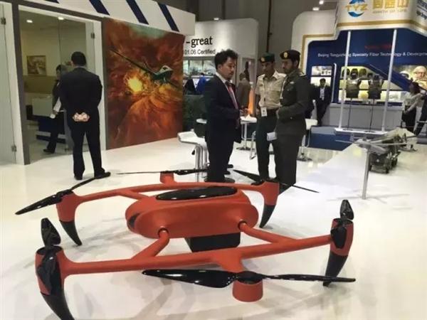 续航世界第一!中国燃料电池无人机亮相