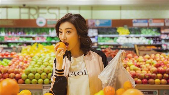 """超市""""活捉""""景甜这样太萌了"""