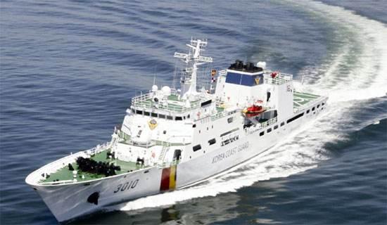 韩国造1500吨海警舰对付中国渔船?火力十分凶猛