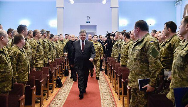 """乌总统:乌克兰面临与俄罗斯进行""""全面战争""""的威胁"""