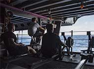 卡尔文森号来南海未见起降战机