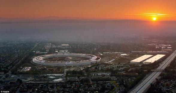 苹果员工4月将迁入Apple Park  礼堂以乔布斯命名